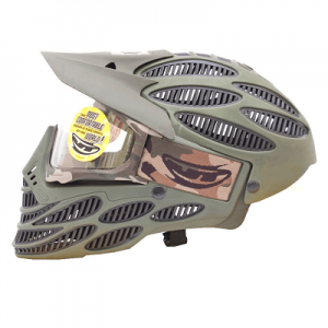 Spectra Flex 8 Head Guard Thermal Olive